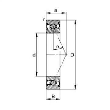FAG محامل المغزل - HCS7014-E-T-P4S