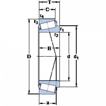 المحامل 32218 J2/Q SKF